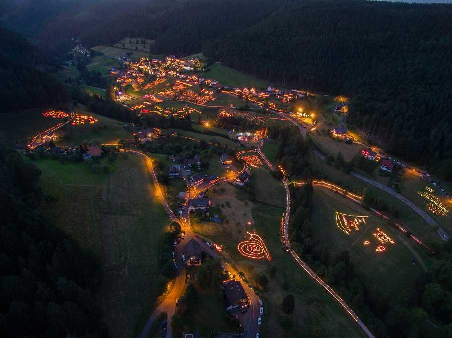 Tonbachtal-Beleuchtung